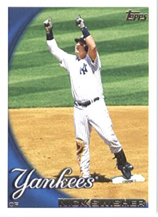 Amazoncom 2010 Topps Baseball Card 65 Nick Swisher New York