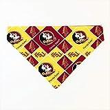 Florida State Seminoles Dog Bandana No-Tie