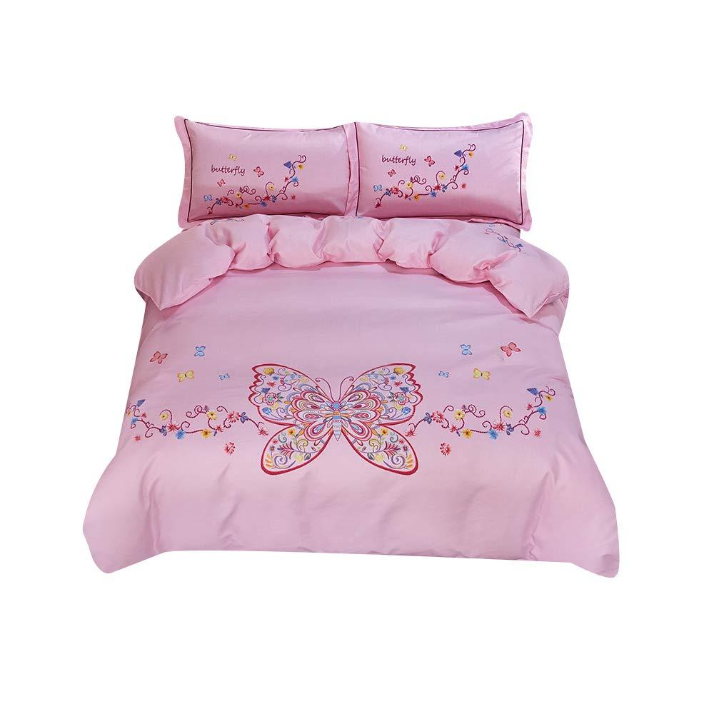 ベッド4組の綿の紙やすりで磨くホームテキスタイル寝具綿の掛け布団カバー1.5メートル1.8メートルベッドサンディング暖かさ強い柔らかい厚い B07S9RPPJG
