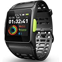 GPS Running Watch, Smart Watch Fatigue Analysis Heart...