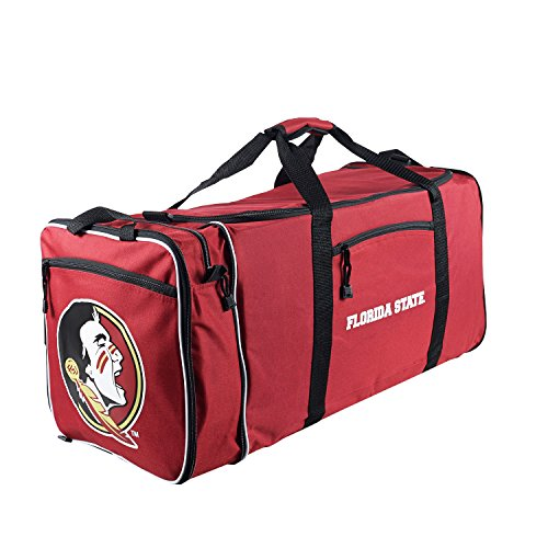Officially Licensed NCAA Florida State Seminoles Steal Duffel Bag (Bag Ncaa Gym State)