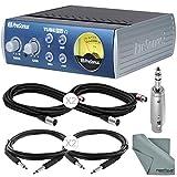 PreSonus TubePre V2 Tube Preamplifier & DI Box and Basic Bundle w/ Xpix Cables + Adapter + Fibertique Cloth