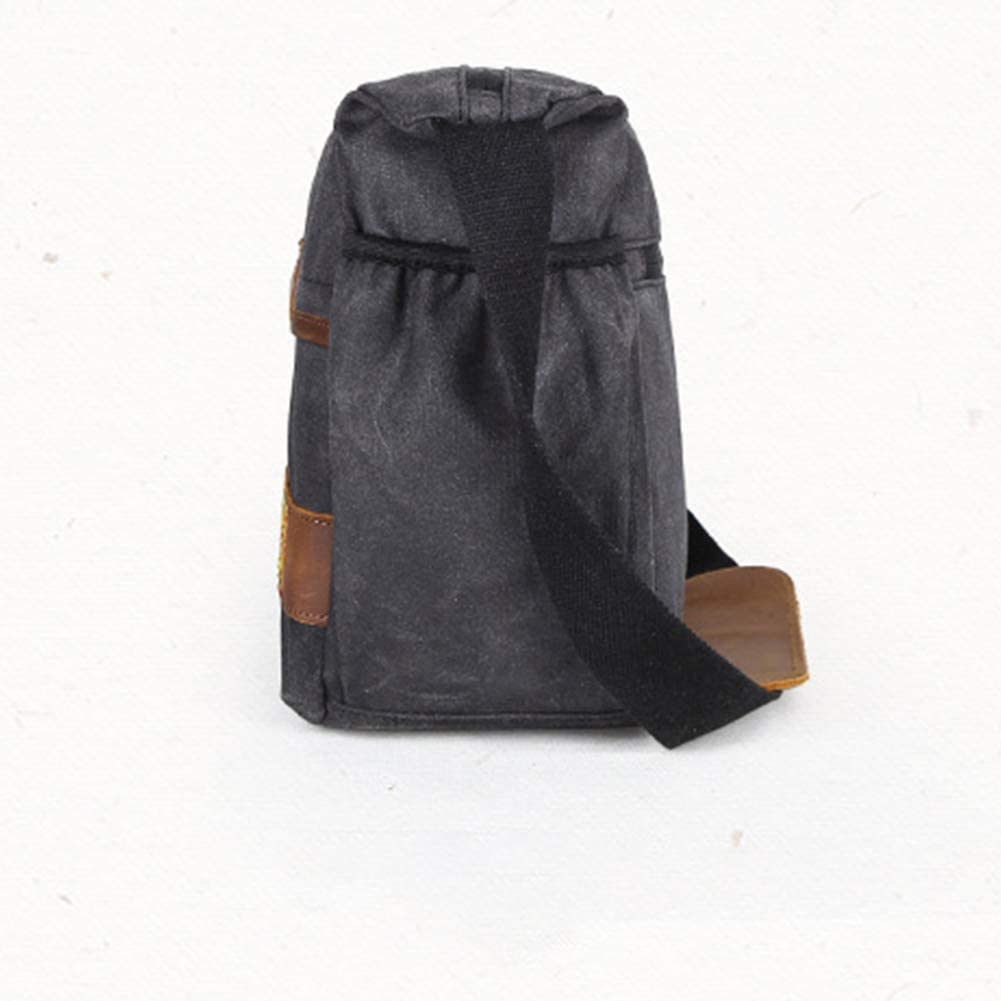 AKDSteel Men Women Portable Waterproof Single Shoulder Camera Bag ArmyGreen