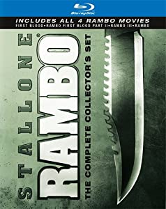 Rambo: The Complete Collector's Set (First Blood / Rambo: First Blood Part II / Rambo III / Rambo) [Blu-ray] by Lionsgate Home Entertainment