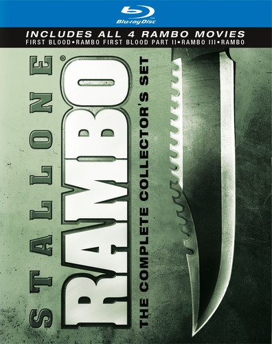 Ment Box - Rambo: The Complete Collector's Set (First Blood / Rambo: First Blood Part II / Rambo III / Rambo) [Blu-ray]