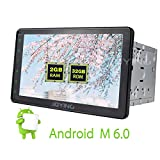 JOYING 8'' Android 6.0 Quad Core Double 2 Din Car Radio Stereo HD 1024*600 Resolution GPS Navigation Support Bluetooth/Steering Wheel Control/MirrorLink/RDS