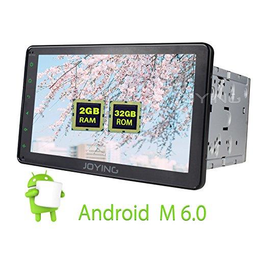 JOYING Universal 2GB Android 6.0 Car Stereo Radio Double ...