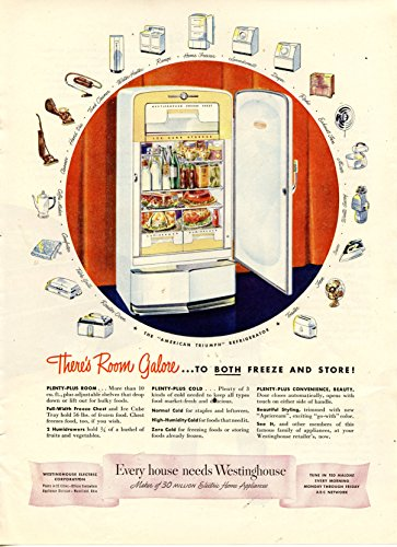 vintage-1948-westinghouse-refrigerator-magazine-ad-theres-room-galore