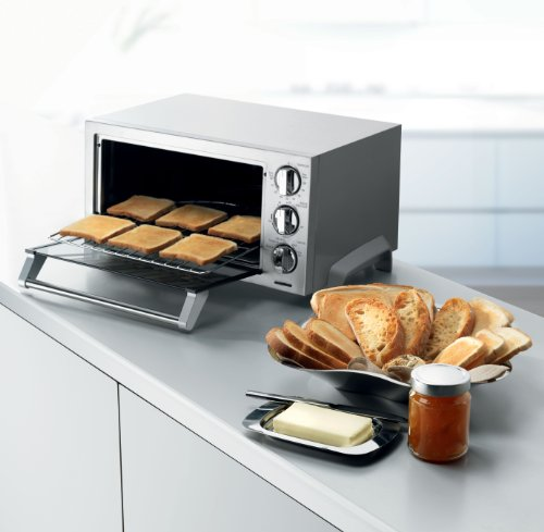 Amazon.com: DeLonghi EO1270 6 Slice Convection Toaster Oven, Stainless  Steel: Kitchen U0026 Dining