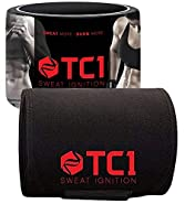 TC1 Waist Belt Bundle with TC1 Advanced Topical Sweat Workout Enhancer with Capsaicin