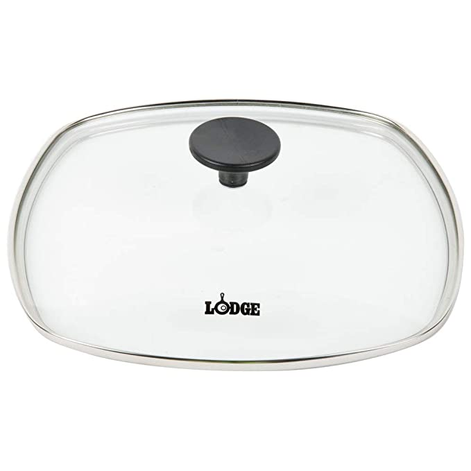 Amazon.com: Lodge Seasoned Hierro fundido Skillet con tapa ...