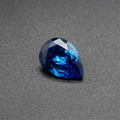 Light Blue Sapphire Pear Shaped Faceted Gemstone Teardrop Cut Sapphire Gem Multiple Sizes to Choose C87S (13X18mm)