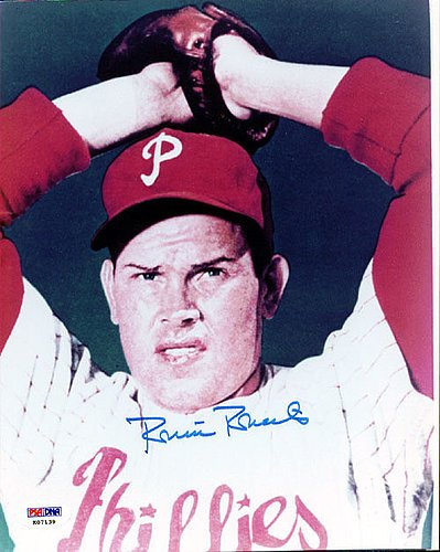 (Robin Roberts Signed 8x10 Photograph Phillies - Certified Genuine Autograph By PSA/DNA - Autographed Photo)
