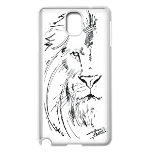 Powerful lions Case Cover Best For Samsung Galaxy NOTE4 Case Cover KHR-U535647