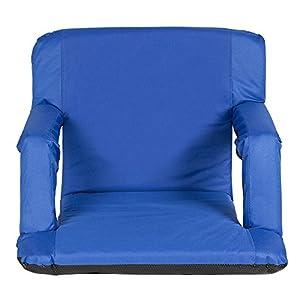 Trademark Innovations Portable Multiuse Adjustable Recliner Stadium Seat by by Trademark Innovations
