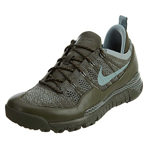 Nike Mens Lupinek Flyknit Low Cargo Khaki/Mica Green Casual Shoe 11 Men US