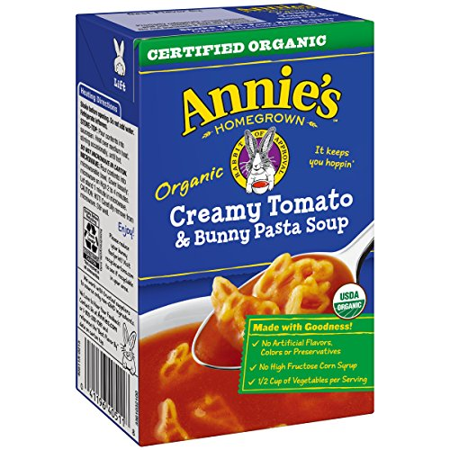 Annie's Creamy Tomato & Bunny Pasta Soup 17 oz Aseptic Pk (pack of 8)