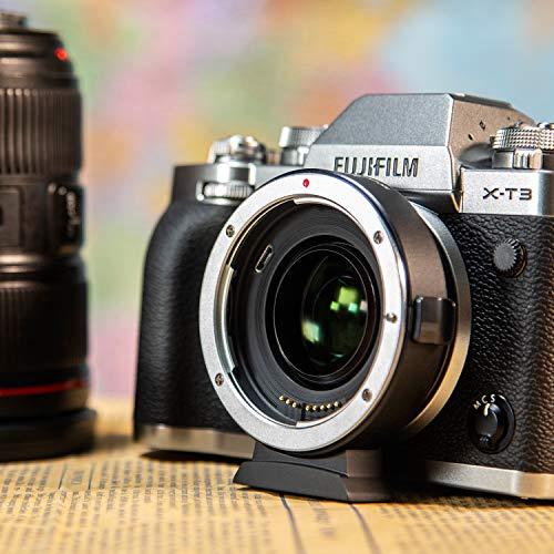 VILTROX EF-FX2 Auto Focus 0.71x Speed Booster Adapter for Canon EF Lens to Fujifilm X-Mount Camera X-T3 E3 T2