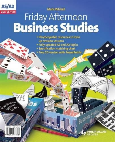 Download Friday Afternoon AS/A2 Business Studies Resource Pack 2nd Edition + CD ebook