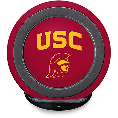 South Carolina Gamecocks Pedestal (University of Southern California Fast Charge Wireless Charging Stand Skin - USC Trojan Logo | Schools X Skinit Skin)
