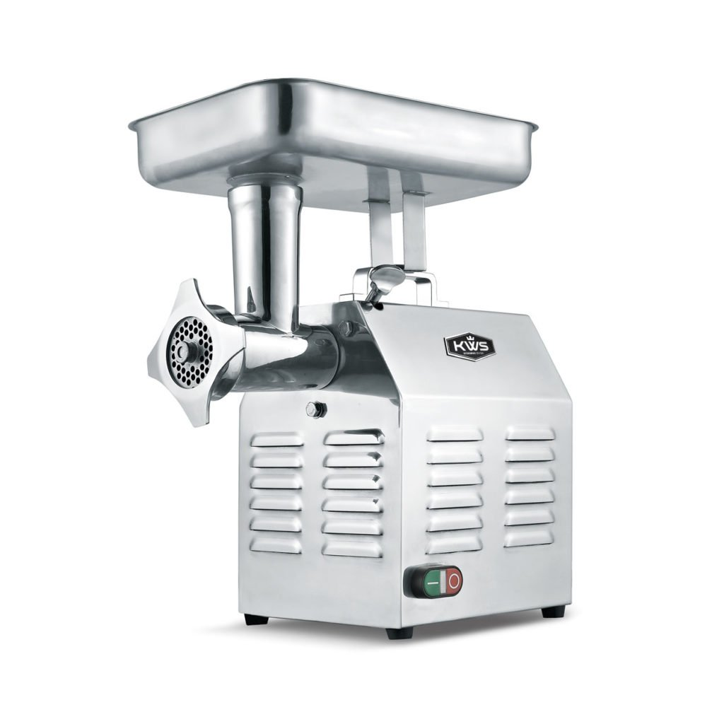 KWS TC-22 Commercial 1200W 1.5HP Electric Meat Grinder Stainless Steel Meat Grinder For Restaurant/Deli/Home by KitchenWare Station