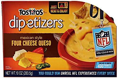 Tostitos Dip Etizers Cheese Queso Ounce product image