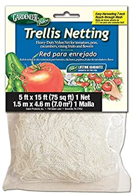 Dalen Gardeneer 5-Foot x 15-Foot Trellis Netting TP-15C(2Pack) Size: 2Pack, Model: , Home/Garden & Outdoor Store
