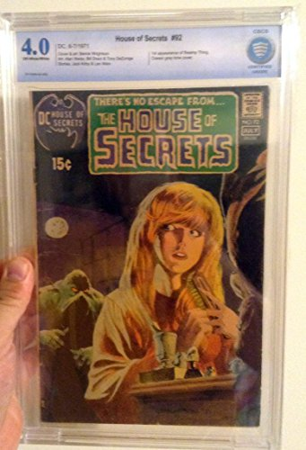 House of Secrets V1 #92,first Swamp Thing Appearance (Swamp Thing First Appearance House Of Secrets 92)