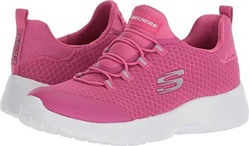 Skechers Kids Girls' Dynamight-Race N'Run Sneaker,Pink,12 Medium US Little Kid - Girls Race