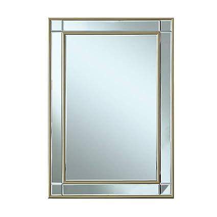 amazon com bathroom mirrors wall mirror nordic square wall mirror rh amazon com