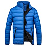 Best Baby Trend Baby Nails - Goddessvan Men's Winter Trend Zipper Pocket Down Jackets Review