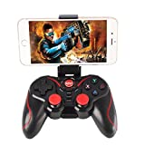 Eachbid Dual Shock Wireless Controller for Xbox 360 PC XBOX PS3 Tablets TV Android Iphone Console + Bluetooth Receiver Free