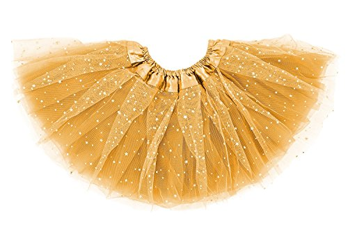 Dancina Tutus for Baby Girls 6-24 Months Gold -