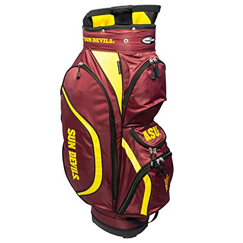 Team Golf NCAA Clubhouse Cart Bag, Arizona State by Team Golf