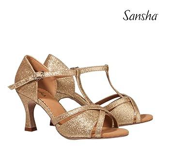 De Tina Br30008pu Chaussure Femme Danse Salon Sansha qOHZFwtF
