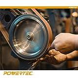 POWERTEC Grit Aluminum Oxide Sanding Belt