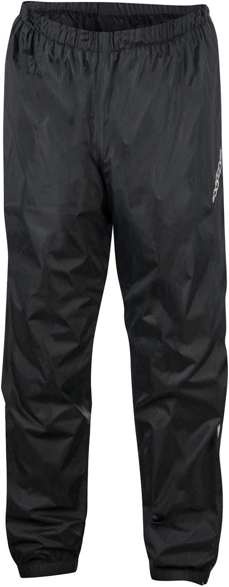 Fluo//Black Alpinestars Hurricane Rain Motorcycle Waterproof Over Trousers
