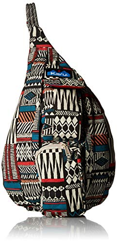 Print Rope - KAVU Women's Mini Rope Bag, Pattern Stack, No Size