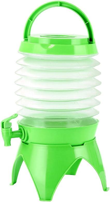Bidon Pliant Portable avec Robinet OMZGXGOD 5L R/éservoir deau Pliable R/écipient deau sans BPA Non Toxique pour Camping Randonn/ée Escalade Pique-Nique BBQ ou dautres Activit/és de Plein Air