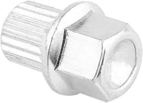 4+1 Wheel Bolts /& Lock Lug Nut Set with Key Spline Tuner Lug Bolts for Aftermarket Wheels B5 1998-2005 8D0601139F-Internal Diameter 17mm