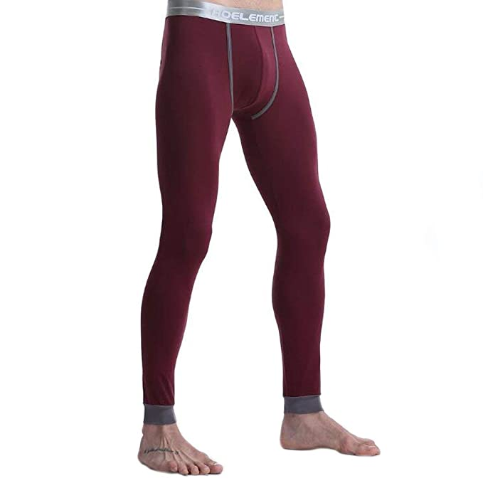Ropa Interior Térmica Caliente para Hombre Stretch Long Pants She John Esencial Leggings Adecuado Invierno Trabajo Al Aire Libre Viajes Camping 2: ...
