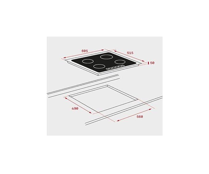 Teka ITF 6320 Integrado Con - Placa (Integrado, Con placa de ...