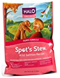 Halo Spot's Stew Natural Dry Dog Food, Puppy, Wild Salmon Recipe, 6-Pound Bag, My Pet Supplies