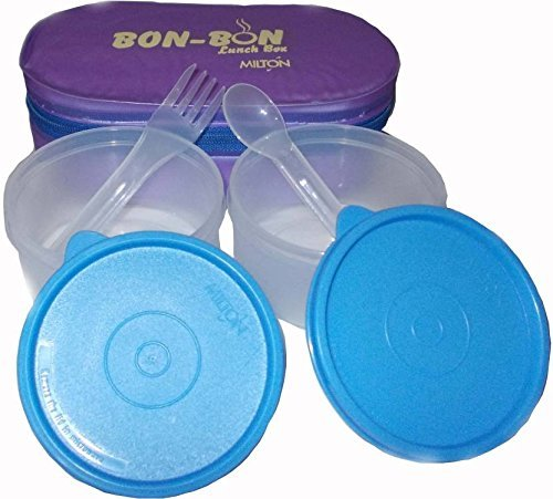 Milton Bon   Bon 2 Container Lunch Box   Purple EC SOF FST 0007_PURPLE