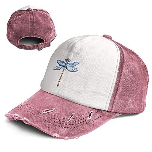 - Fashion Vintage Hat Dragonfly Drawing Adjustable Dad Hat Baseball Cowboy Cap