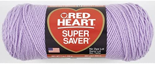 Red Heart Super Saver Yarn-Pale Plum E300-579