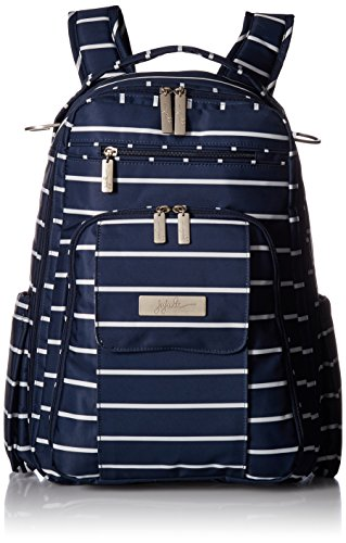 Ju-Ju-Be Coastal Collection Be Right Back Backpack Diaper Bag, Nantucket by Ju-Ju-Be