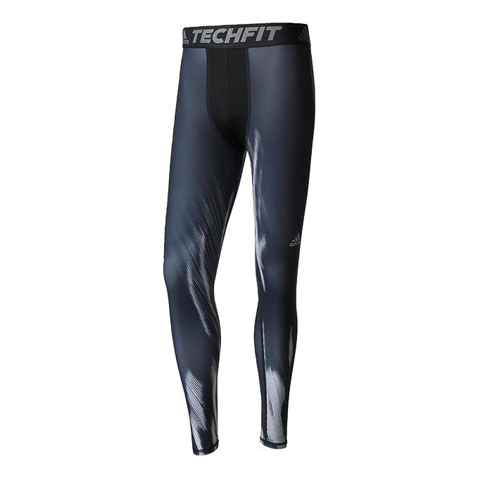 Men's Tights Techfit Adidas Training Printed Long m08nywOvN