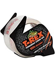 T-Rex Clear Packing Tape with Dispenser, 1.88 in. x 35 yd. (284713), Clear, 35 Yards (284713)