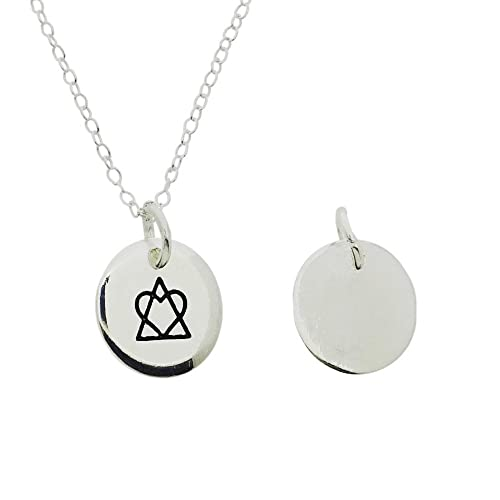 Amazon Adoption Symbol Pendant Necklace With 18 Link Chain